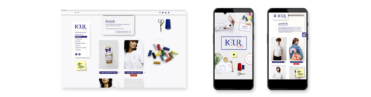 création site internet Keur Paris
